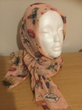 Pink Lips Pop Scarf