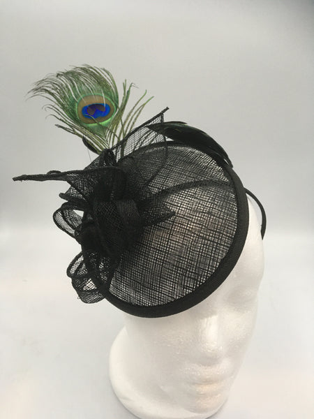 Black Orbit Fascinator