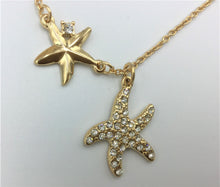 Load image into Gallery viewer, Starfish Necklace & Earrings Set