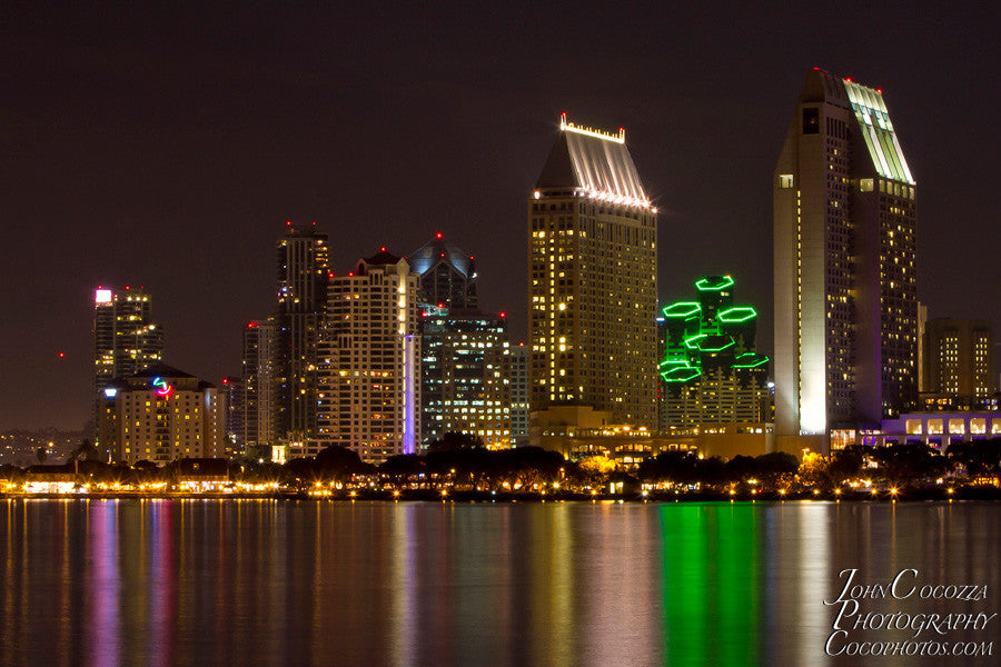 San Diego Downtown Skyline Photos Prints For Sale For Interior Design John Cocozza Photography