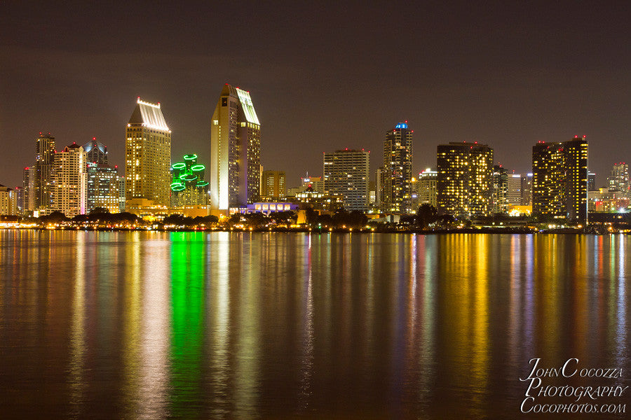 San Diego Downtown Skyline Prints And Photography For Sale John Cocozza Photography