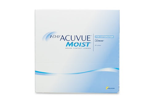 1-DAY ACCUVUE MOIST for Astigmatism (90 Pack)
