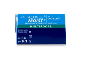 1-DAY ACCUVUE MOIST Multifocal (30 Pack)
