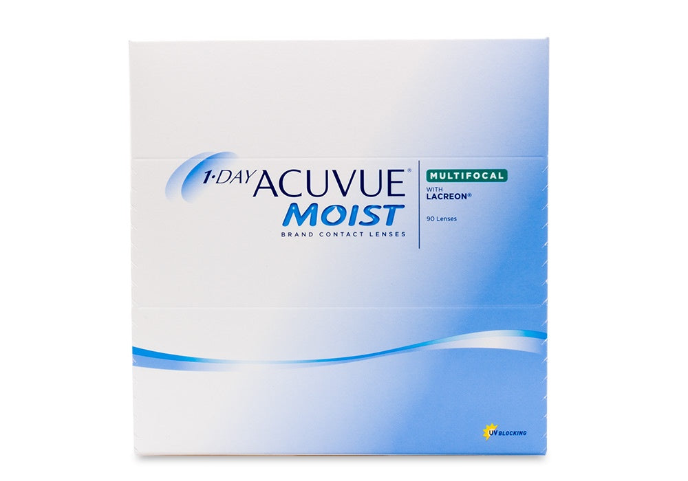 1-DAY ACCUVUE MOIST Multifocal (90 Pack)