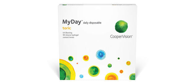 MyDay Toric for Astigmatism (90 Pack) (3849681043516)