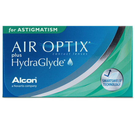 AIR OPTIX PLUS HydraGlyde for ASTIGMATISM (6 Pack) (3848602320956)