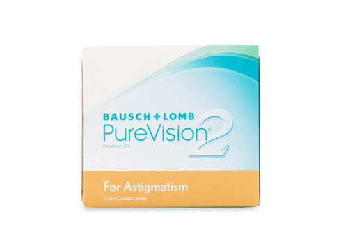 PureVision 2 Toric for Astigmatism (6 Pack)