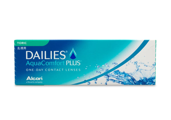 DAILIES AquaComfort PLUS Toric (30 Pack) (3844332781628)
