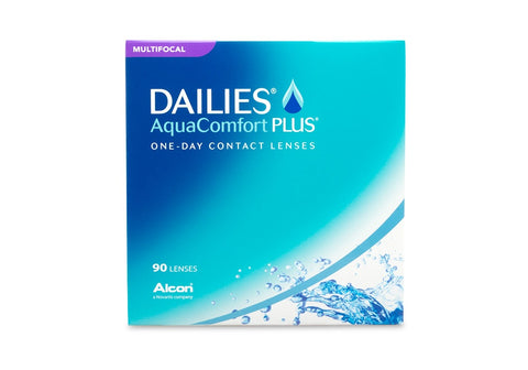 DAILIES AquaComfort PLUS Multifocal (90 Pack) (3844326719548)
