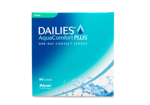 DAILIES AquaComfort PLUS Toric (90 Pack) (3844344610876)