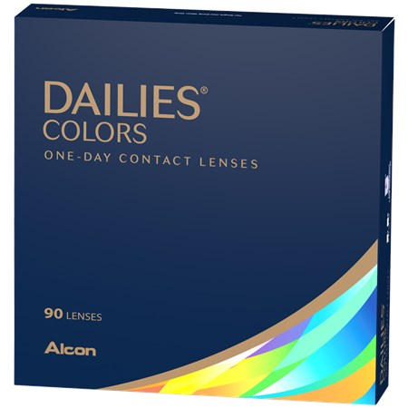 DAILIES Colors (90 Pack) (3844388454460)