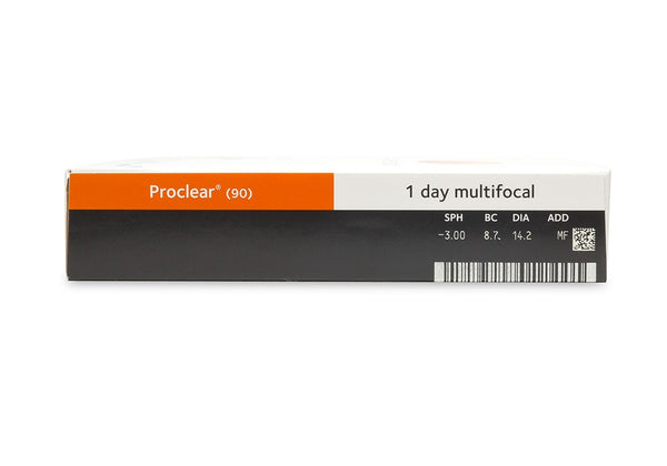 Proclear 1 Day Multifocal (90 Pack) (3849759752252)