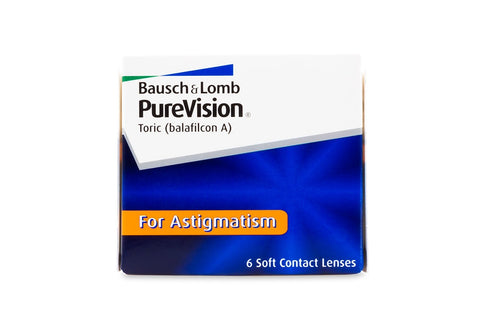 PureVision Toric for Astigmatism (6 Pack) (3849498722364)