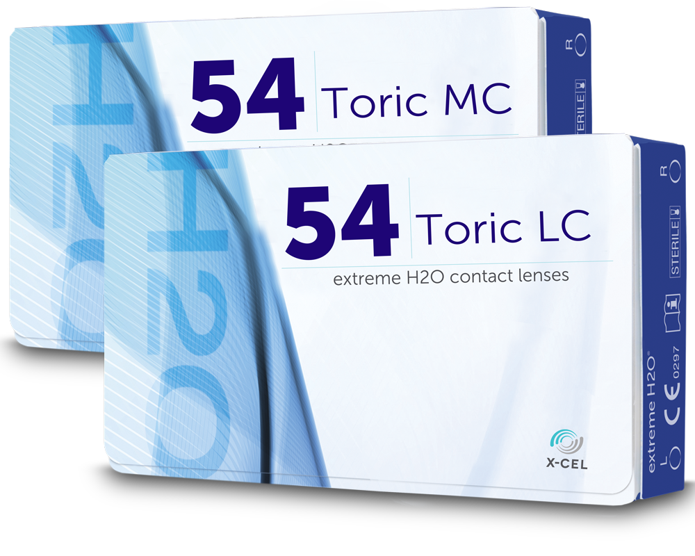 Extreme H2O 54 Toric LC/MC (2 Weeks) (6 Pack)