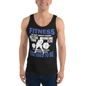 Fitness Is Not Unisex Tank Top
