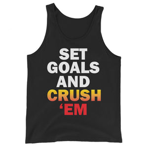 Set Goals Unisex Tank Top