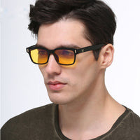 Blue Light Glasses Frame Men Computer Glasses Gaming Nerd Anti Blue Rays Optical Prescription Myopia Polarized Sunglasses