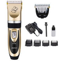 Professional Rechargeable Pet Cat Dog Hair Trimmer
