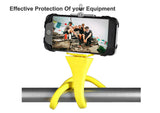 Flexible selfie stick monopod wireless Bluetooth tripod monkey holder for GoPro iPhone camera phone car bicycle universal