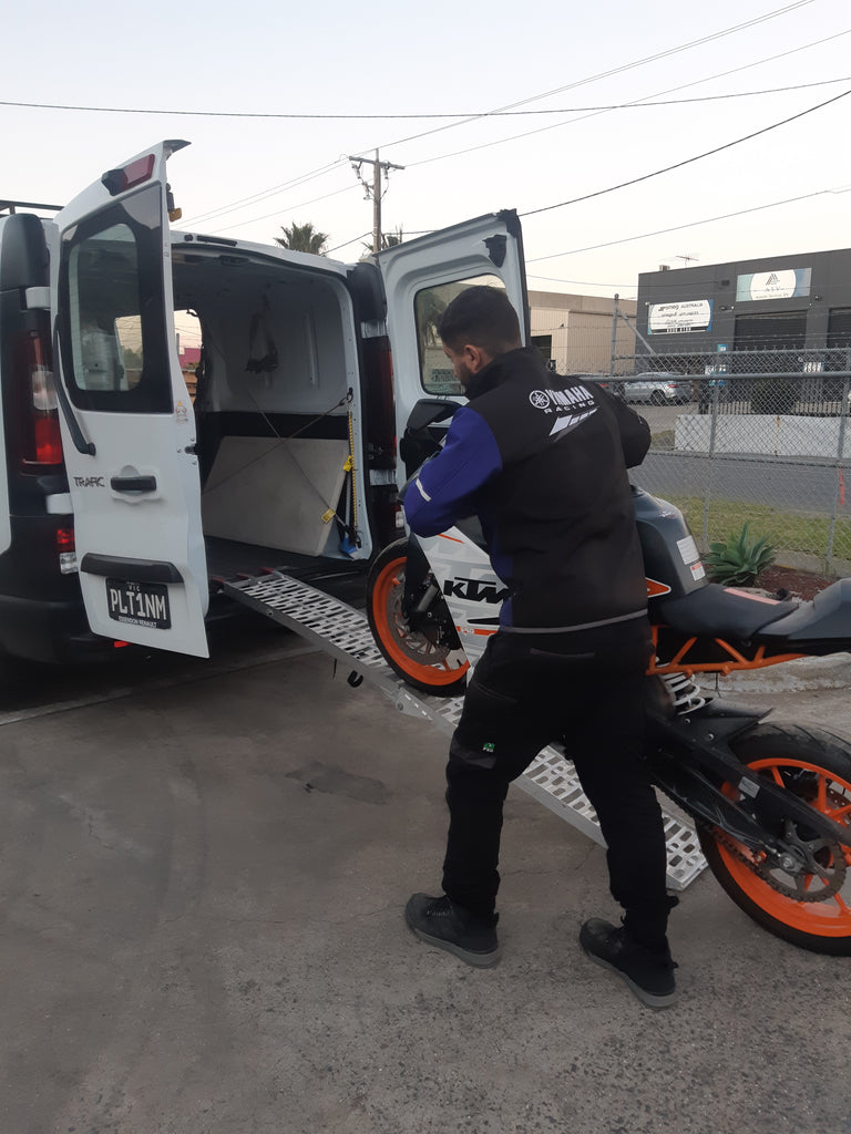 Platinum Motorcycles Mobile Service - We come to you!