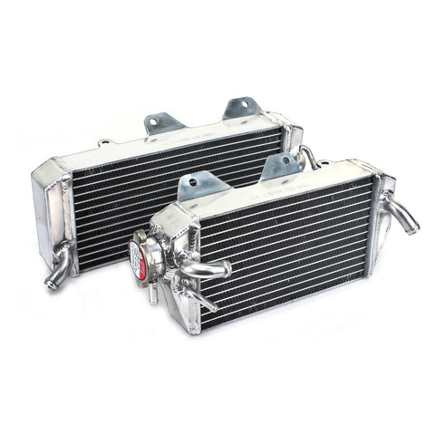 WHITES RADIATORS KAW KX450F 06-07 PAIR