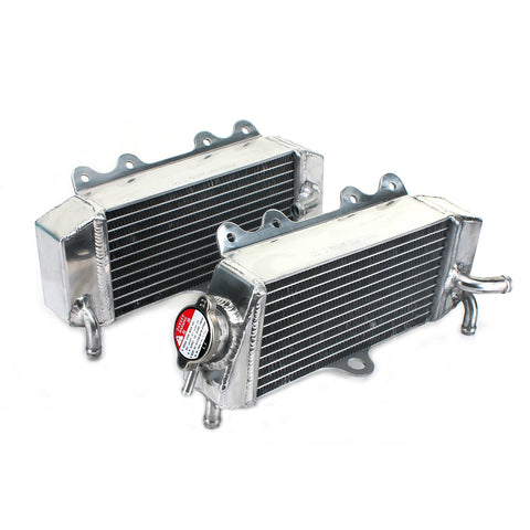 WHITES RADIATORS YAM YZ250F 01-05 WR250F 01-06 PAIR