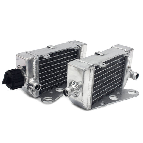 WHITES RADIATORS KTM SX50  12-19 PAIR