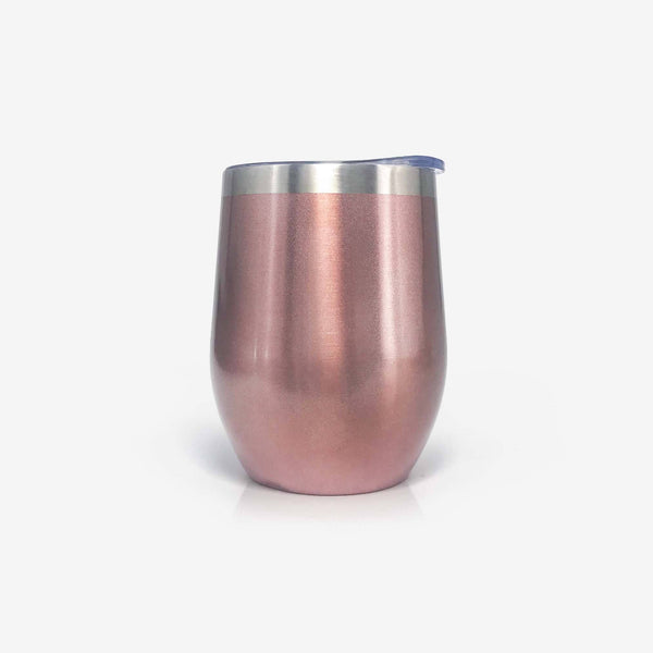 50th Birthday Gifts Stainless Steel Wine Tumbler with Lid | Onebttl