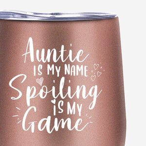 Best Auntie Ever Tumbler - Aunt Gifts