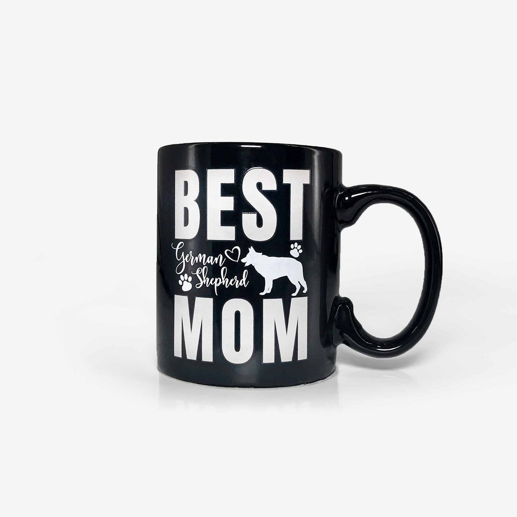 Best German Shepherd Mom Ever Gifts Heat Sensitive Color Changing Coffee Mug (11oz) | Onebttl