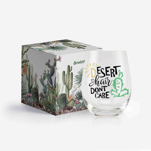 Cactus Wine Glass - Gifts for Cactus Lovers