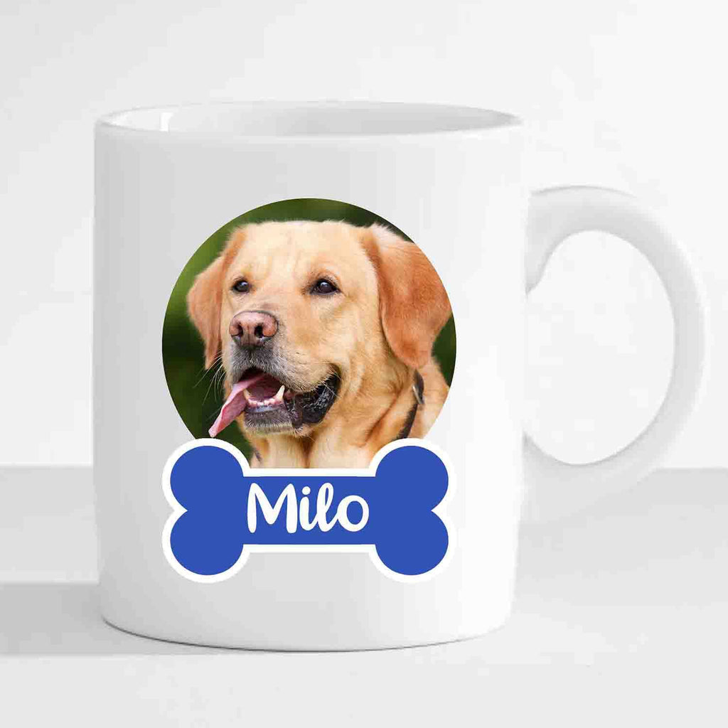 Personalized Dog Mug (Print Your Own Dog Photo and Name)