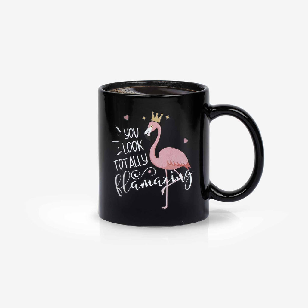 Flamingo color changing mug | Onebttl
