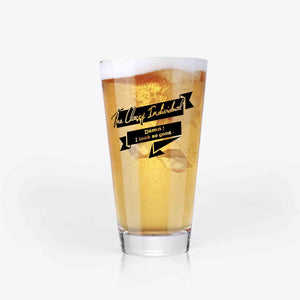 Groomsmen Beer Glass - Wedding Gifts for Groomsmen (7 Styles)