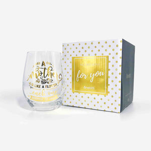 Mom Gifts Stemless Wine Glass | Onebttl