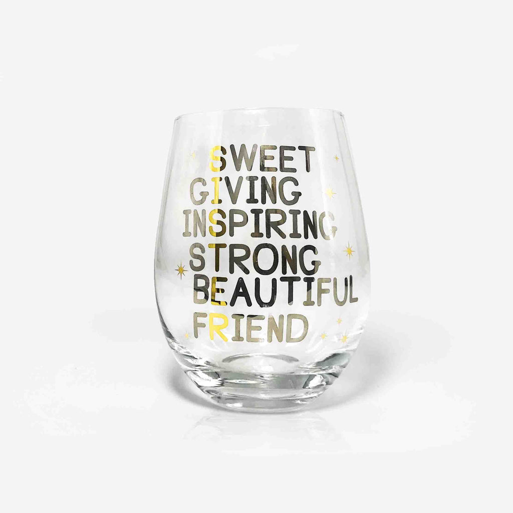 Sister Wine Glass | Onebttl