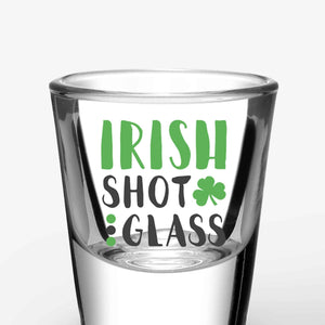 Irish Shot Glasses (A Pair)