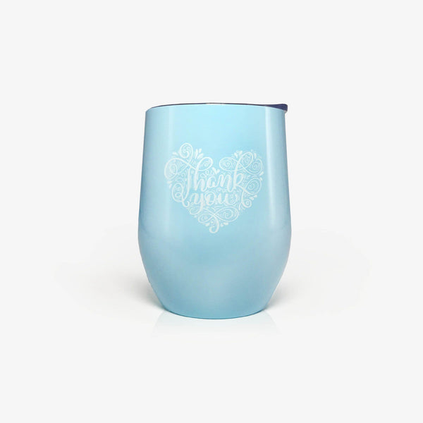 Thank you Gifts 'Thank You for Being Awesome' (12oz, Blue) | Onebttl