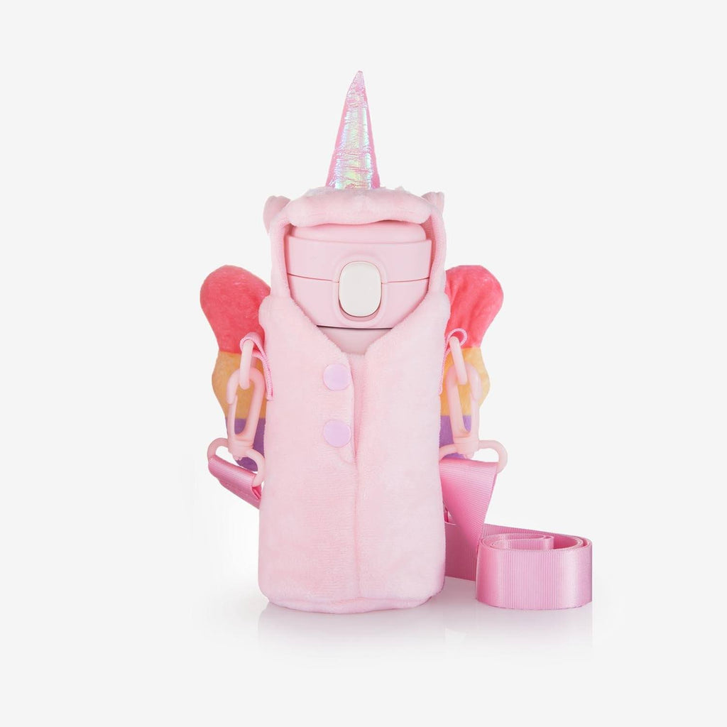 Unicorn Gifts Water Bottle with Holder (Bottle and Holder 10oz) | Onebttl