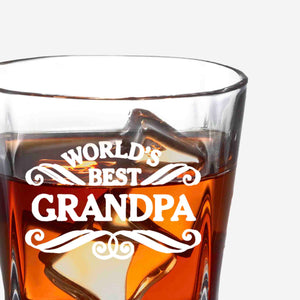 Whiskey Glasses for Grandpa