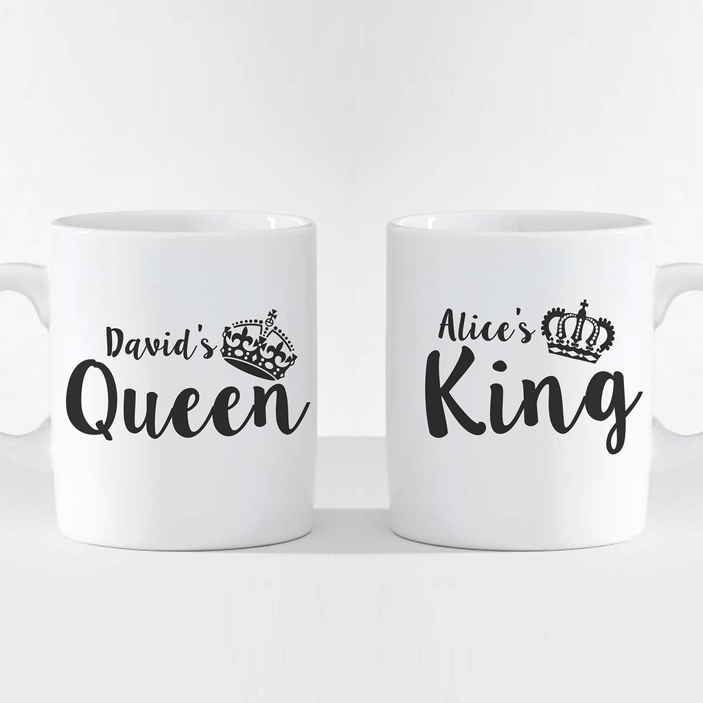 Personalized Anniversary Mugs (A Pair)