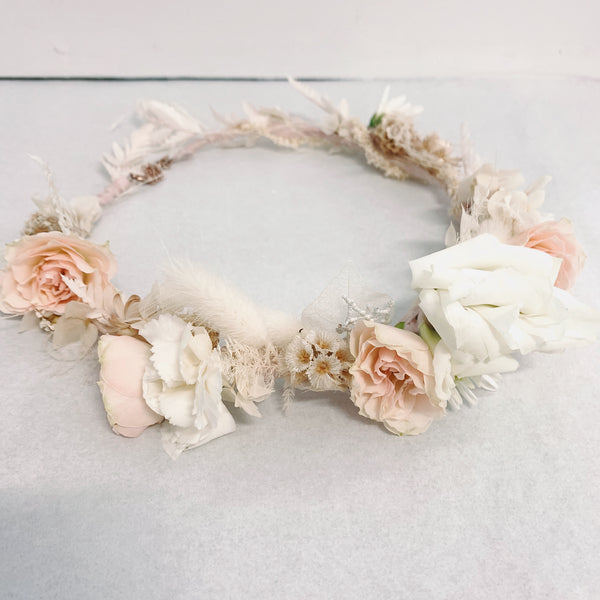 Flower Crown - dried + fresh