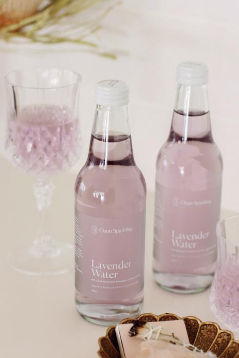 Lavender Sparkled Water