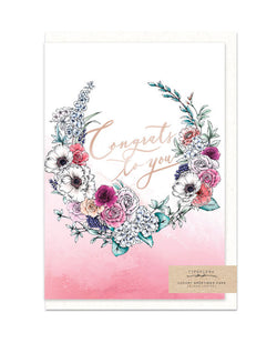 Congrats to You Greeting Card