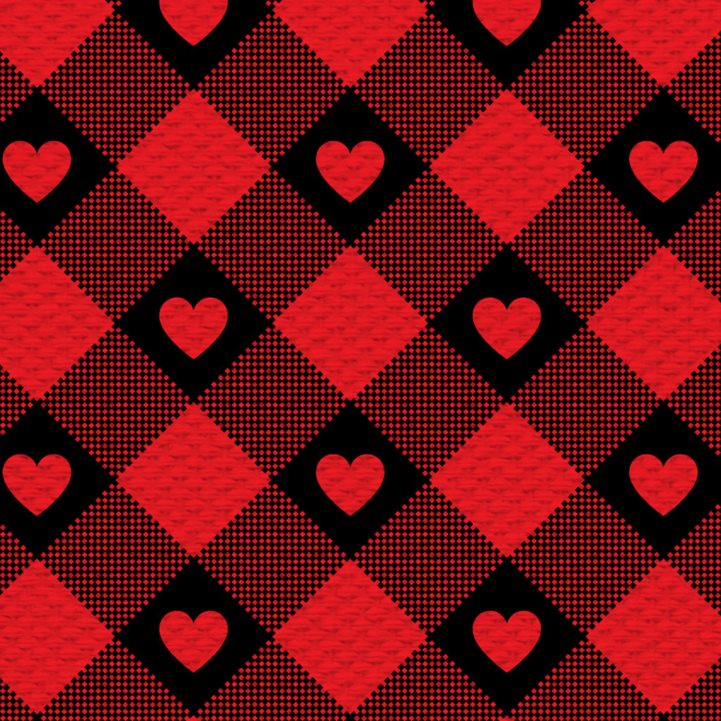 Checkered Hearts - thesneaker-shop