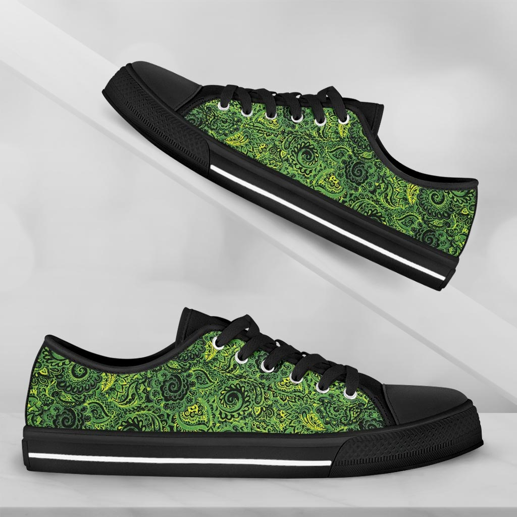 Paisley Emerald Green - thesneaker-shop