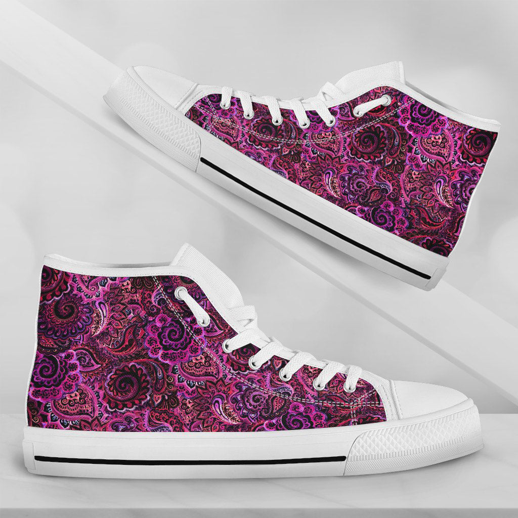 Paisley Pink and Red - thesneaker-shop