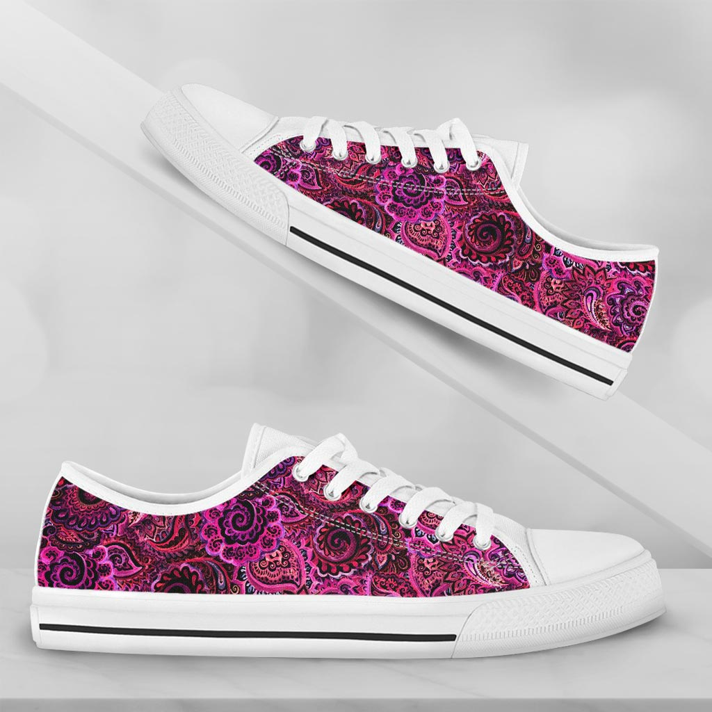 Paisley Red and Pink - thesneaker-shop