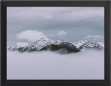 Load image into Gallery viewer, Cloudy Mountain Print