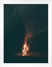 Load image into Gallery viewer, Campfire print